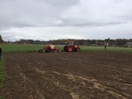 Planting cover crops