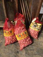 Tons of garlic!